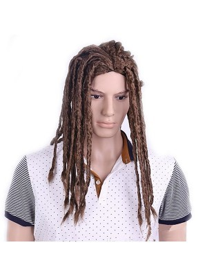 Long Brown Dreadlocks Wig