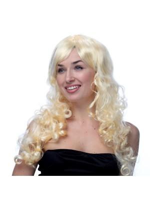 Long Wavy Blonde Wig