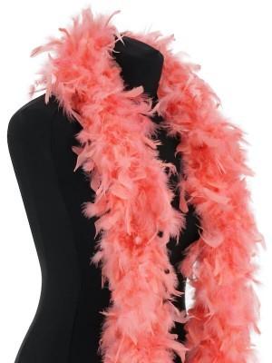 Luxury Flamingo Pink Feather Boa – 80g -180cm