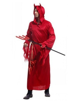 Male Classic Devil Fancy Dress Halloween Costume