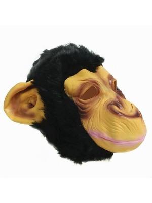 Fancy Dress Costume Monkey Head Mask