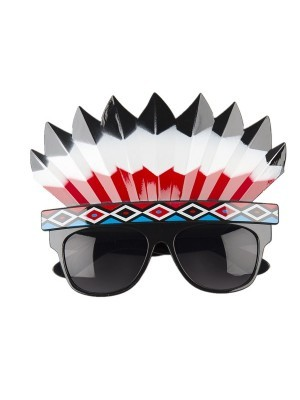 Native American Headdress Sunglasses