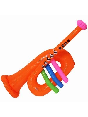 Inflatable Orange Trumpet