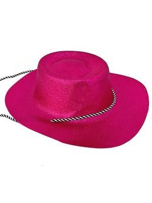 Pink Glitzy Cowboy Hat