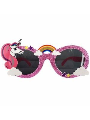 Pink Unicorn Rainbow Sunglasses