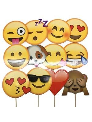 Ready Made Emoji Props On Sticks
