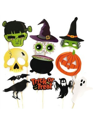 Ready Made 'Trick Or Treat' Halloween Props On Sticks