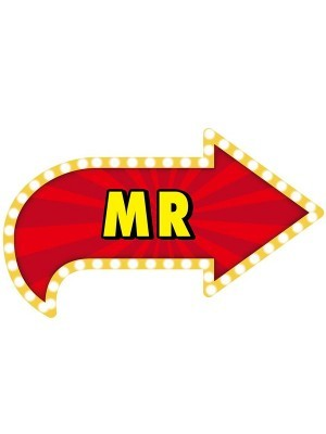 'Mr' Vegas Showtime Style Photo Booth Prop