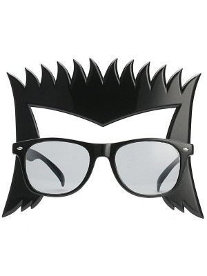 Rock 'n' Roll Music Icon Spiked Hair Glasses