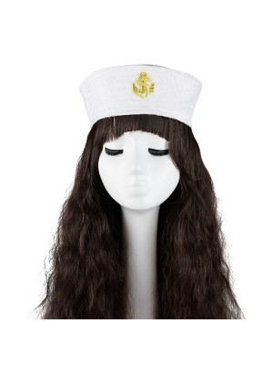 Sailor's Anchor White Cap
