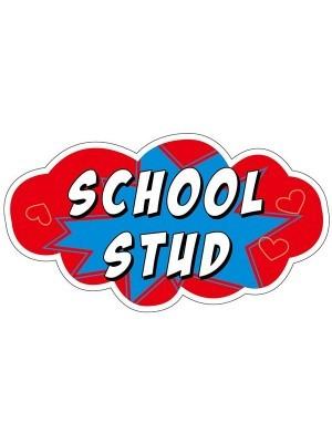 'School Stud' Word Board Photo Booth Prop