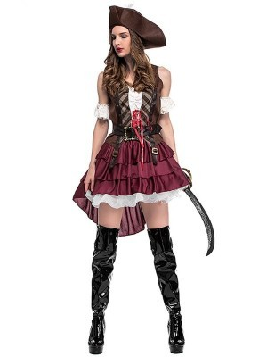 Spanish Style Pirate Fancy Dress Costume