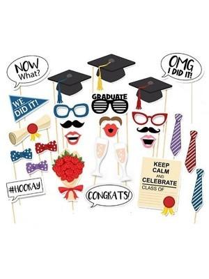 Graduation Props on Sticks