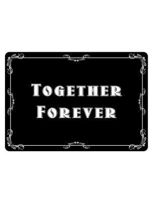 'Together Forever' Vintage Style Photo Booth Prop