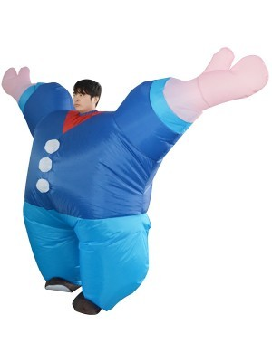 Super Size Popeye the Sailor Muscle Man Inflatable Fancy Dress Costume