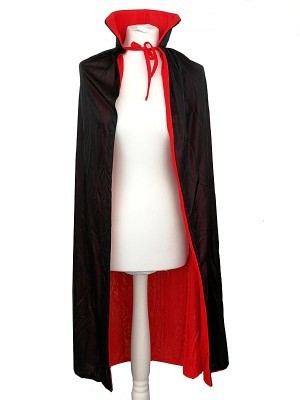 Vampire Reversable Red Or Black Cloak