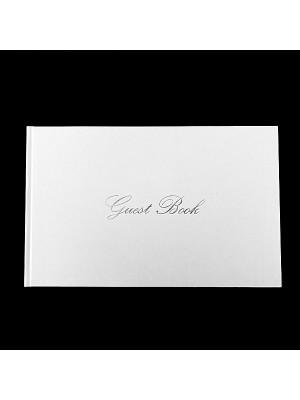 Elegant White Guestbook
