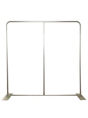Strong Aluminium Pillowcase Backdrop Frame 8ft x 7.5ft With Extra Wide Feet