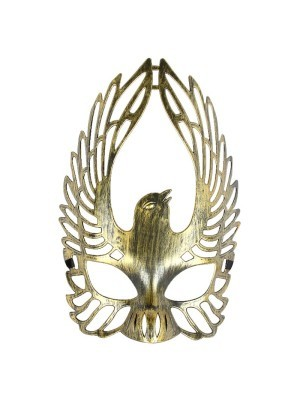 Winged Dove Mask Gold