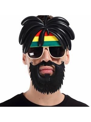 Rastarfarian 'Rasta' Sunglasses With Beard