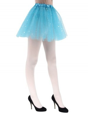 Adult Blue Tutu Skirts with Stars