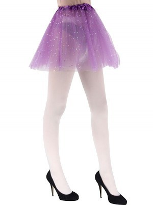 Adult Purple Tutu Skirts with Stars
