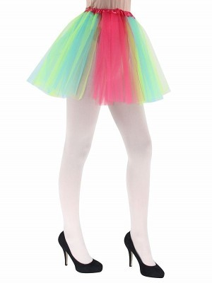 Adult Rainbow Colour Tutu