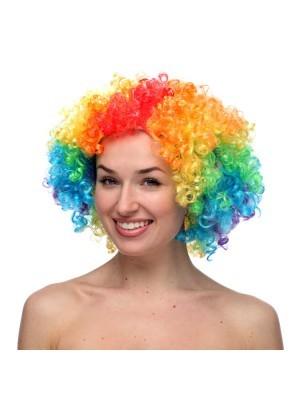 Afro Wig Rainbow
