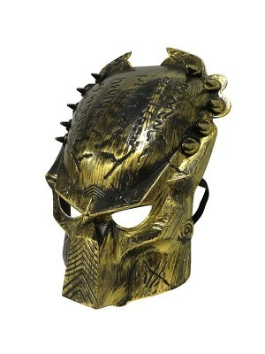 Alien Predator Mask Gold