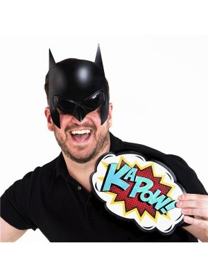 Batman Headpiece and Mask Sunglasses