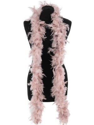 Beautiful Dust Storm Pink Feather Boa – 50g -180cm