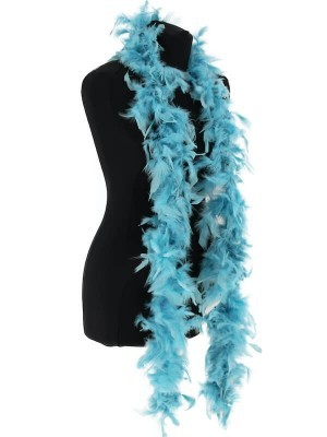Beautiful Dusty Blue Feather Boa – 50g -180cm