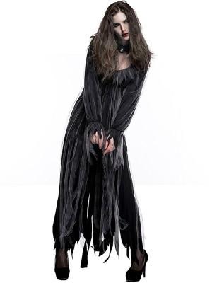 Gothic Zombie Fancy Dress Costume