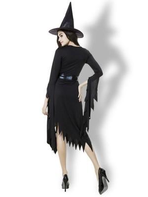 Elegant Witch Women's Halloween Fancy Dress Costume