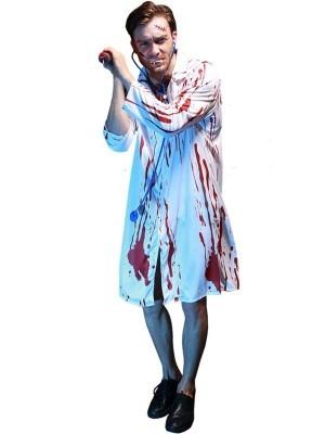 Bloody Doctor Male Fancy Dress Costume