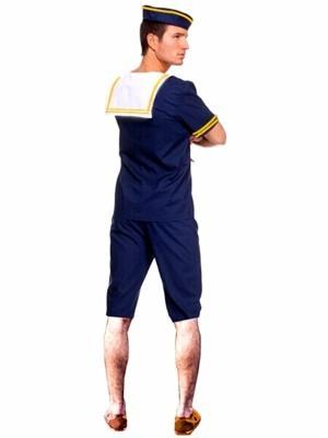 Male Navy Sailor Fancy Dress Costume