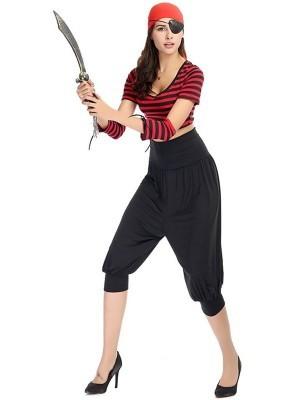 Classic Pirate Fancy Dress Costume