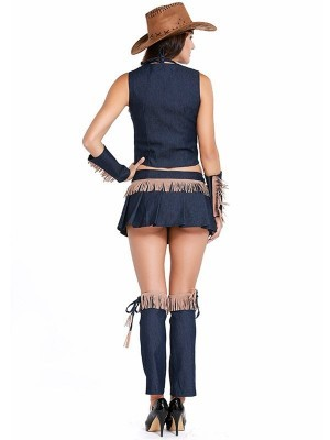 Cowgirl Rodeo Fancy Dress Costume