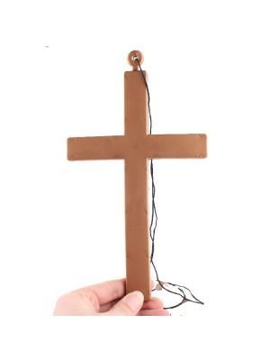 Crucifix Cross Necklace Prop