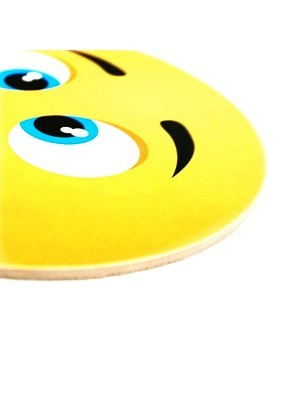 Goofy Smile Emoji Photo Booth Prop