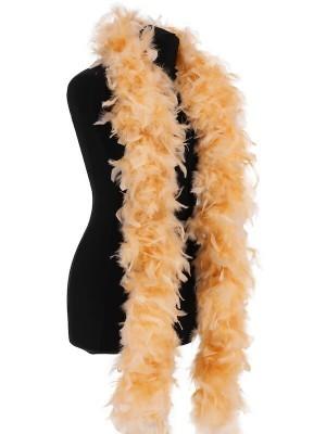 Deluxe Mellow Peach Feather Boa – 100g -180cm