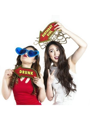 'Drunk' Vegas Showtime Style Photo Booth Prop