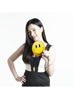Smiley Emoji Photo Booth Prop