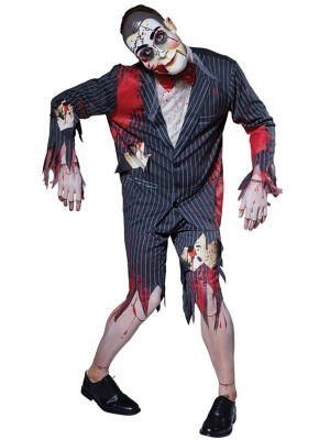 Evil Creepy Puppet Men's Halloween Costume