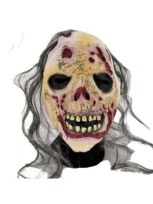 Halloween Fancy Dress Costume Evil Rotting Corpse Head Mask