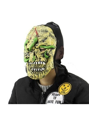 Flesh Eating Bugs Rotting Corpse Mask Halloween Fancy Dress Costume