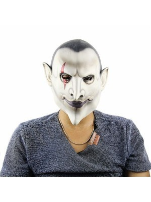Dracula Vampire Latex Head Mask Halloween Fancy Dress Costume