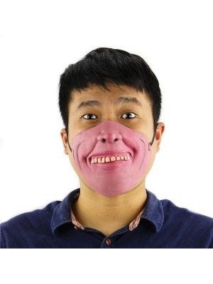Fancy Dress, Costume Goofy Toothed Half Face Mask