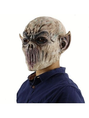 Evil Demon Bloody Monster Mask Halloween Fancy Dress Costume