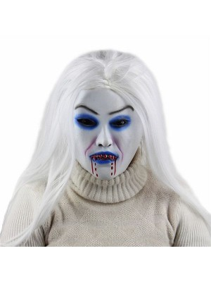 Pale Vampire Zombie Mask Halloween Fancy Dress Costume